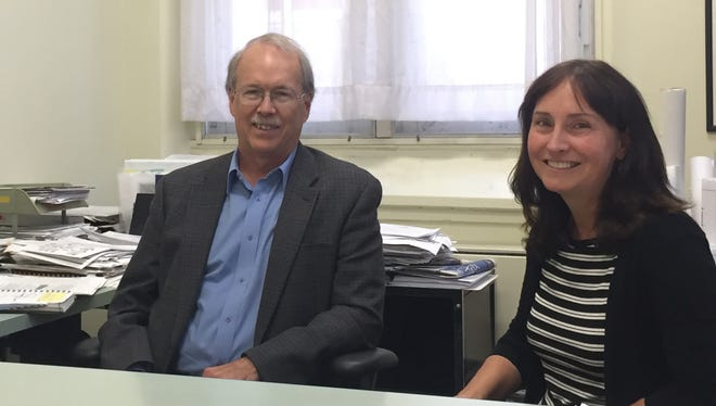Tompkins County Planning Commissioner Ed Marx and Deputy Commissioner Katie Borgella developed the Tompkins County Energy Roadmap