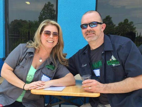 Susan and Scott Atkins launched the Brew Bus NJ about a year ago.They introduce beer lovers to craft breweries throughout the state.