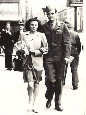 Marion Tabor met his future wife, Carmen, in Antwerp, Belgium.