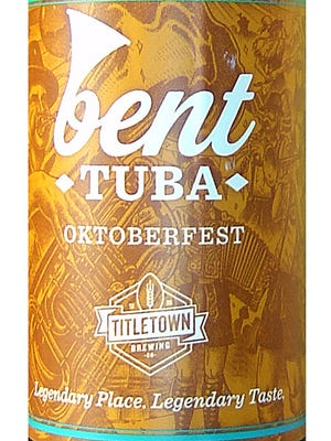 Bent Tuba Oktoberfest, from Titletown Brewing Co. in Green Bay, Wis., is 6% ABV.