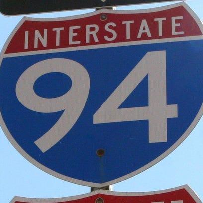 Sign for I-94