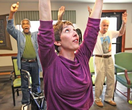 Dance, art boost memories for Alzheimer's patients