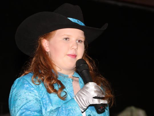 2017 Fair Princess Calleigh Sweetser showed poise and