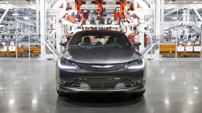 The Chrysler brand Factory Tour, an interactive online experience using Google Maps Business View technology takes consumers inside the new five million square-foot Sterling Heights Assembly Plant for a behind-the-scenes peek at how the all-new 2015 Chrysler 200 is built.
