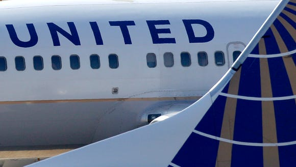 In this Sept. 13, 2011, file photo, United Airlines
