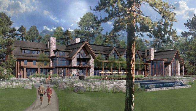Artist's rendering of resort to open in 2017.