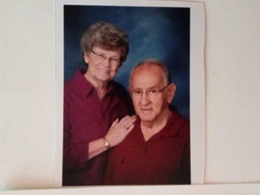 Anniversaries: Max and JoAnn Baldridge & Bruce Baldridge