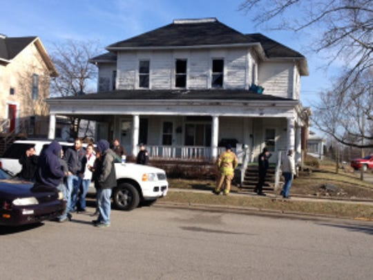 One person died in a fire on Thursday, Jan. 1, 2015, in the 200 block of South East Street in Lebanon, the Boone County Sheriff's Department said.