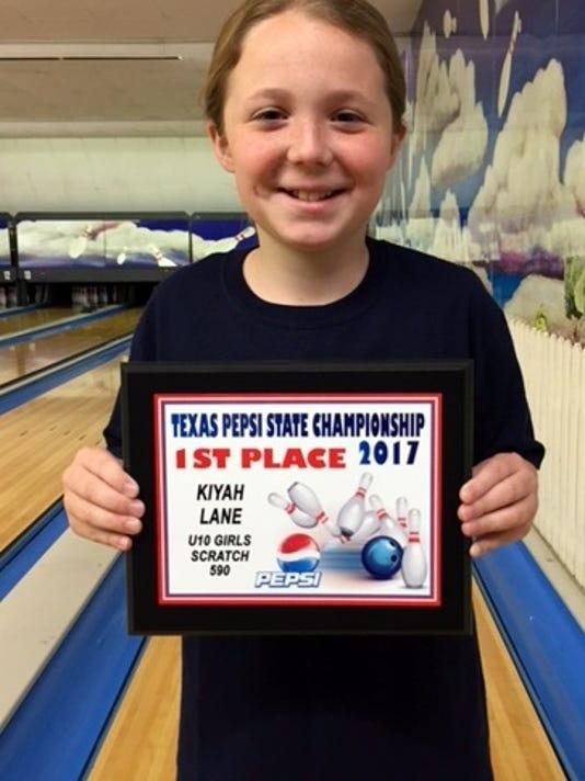 Bowling: Kiyah Lane