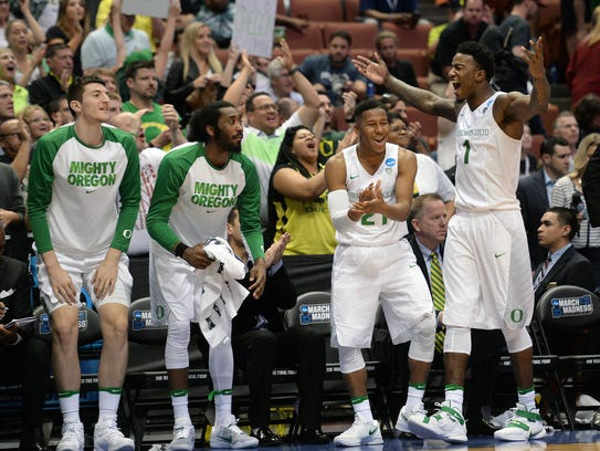 Oregon Ducks are No. 1 seed in the West Region.