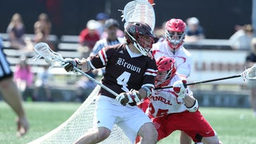 Brown attackman Dylan Molloy leads the nation in points per game with an average of 6.8, with 34 goals and 34 assists.