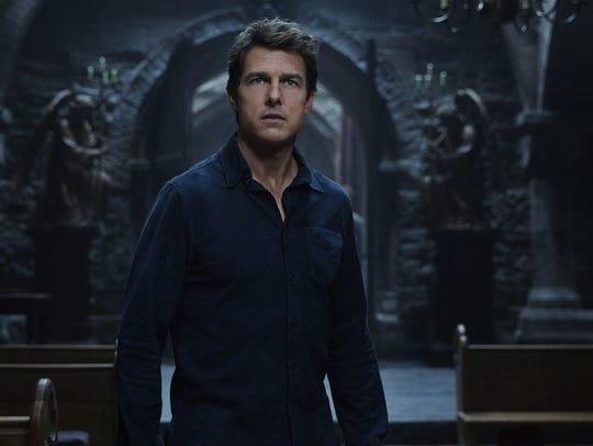 "Tom Cruise headlines ""The Mummy,"" a new action film"