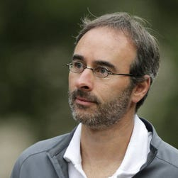 This July 11, 2013 file photo shows Groupon CO Eric Lefkofsky, in Sun Valley, Idaho.