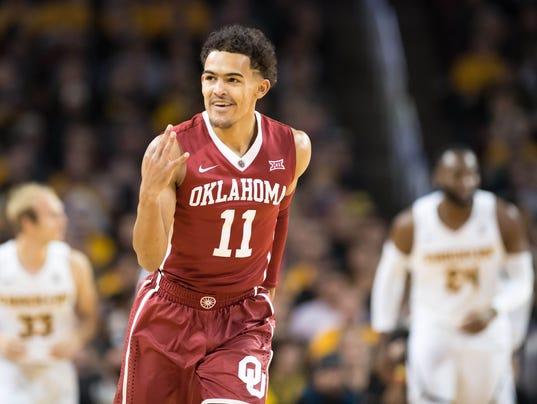 NCAA Basketball: Oklahoma at Wichita State