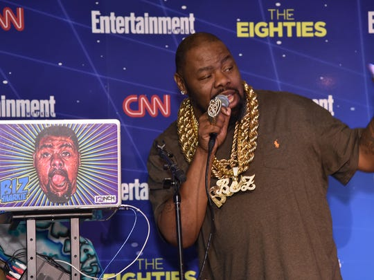 Biz Markie performs at EW & CNN The Eighties Trivia Event at The Django at the Roxy Hotel on March 29, 2016 in New York City.