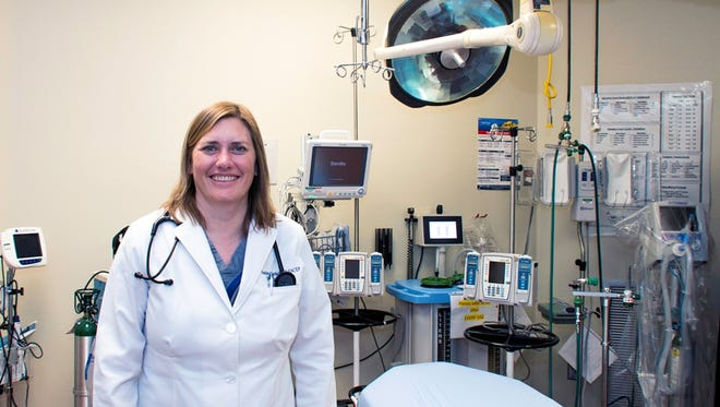 Dr. Heather Marshall is the Medical Director o the Carlsbad medical Center Emergency Department.
