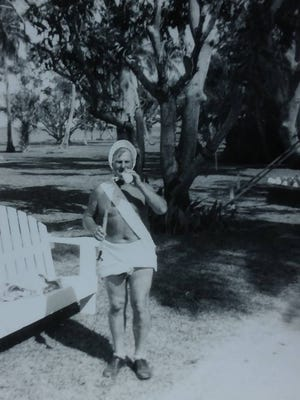 This shorter-than-average guest of Al Sutphin may have helped start the runor of a secretive south Fort Myers colony of little people