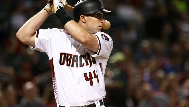 The Diamondbacks' Paul Goldschmidt has earned his first player of the month award.