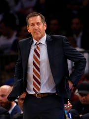 New York Knicks head coach Jeff Hornacek.