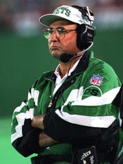 Jets coach Rich Kotite in 1995.