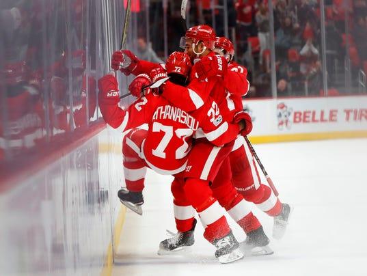 NHL: Detroit Red Wings vs. Ottawa Senators