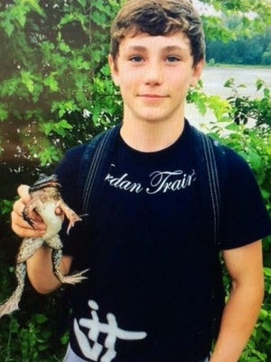 Oldham High School sophomore Tristan Ballinger