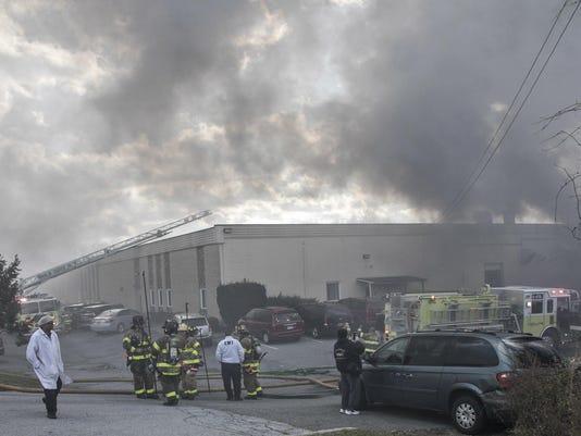 Cosmetics Factory-Explosion
