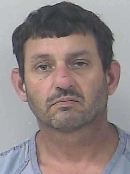 Anthony Germano, was accused of assaulting a law enforcement officer, resisting an officer and violating his probation.