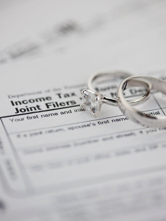Tax forms with Wedding Rings