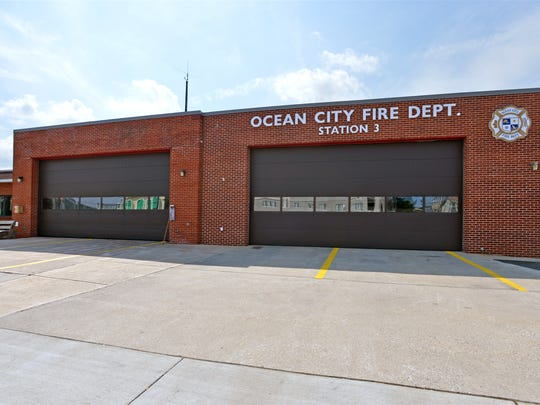 Ocean City Volunteer Fire Department Station 3 is located on 74th Street.