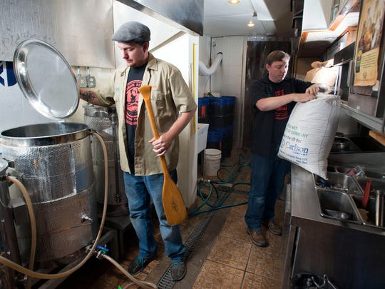 Brew masters, Rob and Tim Roberts; of the Redneck Riviera