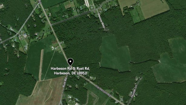 Delaware State Police are investigating a serious crash on Harbeson Road in Sussex County.