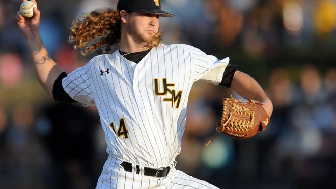 Southern Miss' Cord Cockrell is expected to pitch Friday against Michigan State.