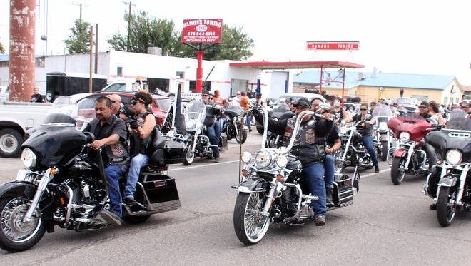 Warm weather signals the start of more motorcycle traffic in New Mexico.