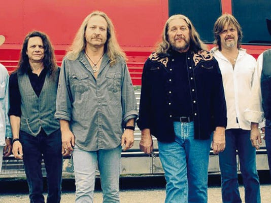 Southern rock legends The Marshall Tucker Band will perform at Ruidoso Downs Race Track, June 18.