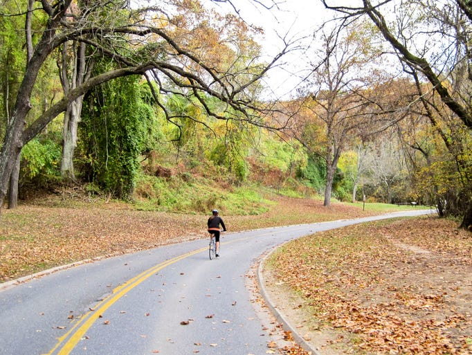 Rock Creek Park, Washington, D.C.: At 25-miles long and with plenty of points of interest along the way, the Rock Creek Trail stretches from the Lincoln Memorial in Washington, D.C., to Lake Needwood Park in Montgomery County, Md.