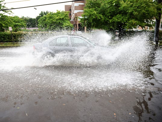 Flooding in Hackensack