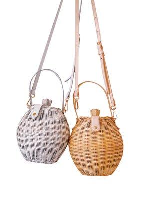 "Ulla Johnson ""Tautou"" wicker basket bag, $265, Scout."