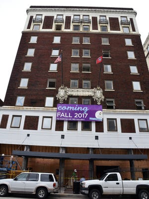 Earlier this year, the Hyatt Place Knoxville Downtown hotel was expected to open in late October. But renovations took longer than projected, so its new opening date is in December.