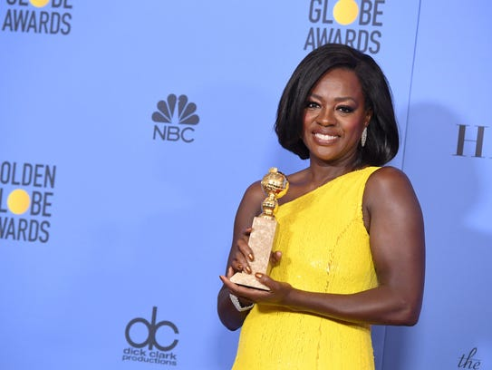 Viola Davis wins best supporting movie actress for