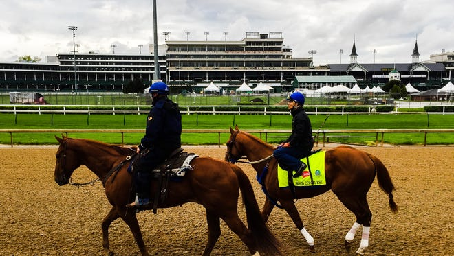 Bold Conquest posted a five-furlong workout Monday at Churchill Downs.