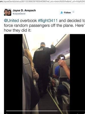 United Airlines is in hot water after a passenger was forcibly removed from an overbooked flight.
