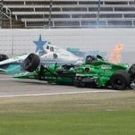 Newgarden, Daly won't finish Firestone 600