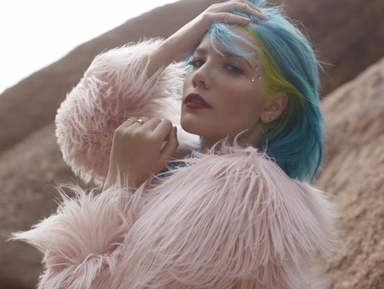 Halsey | Fledgling pop singer Halsey is barely a year