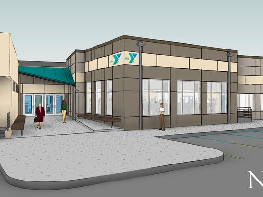 The YMCA has started on a $2.5M renovation project