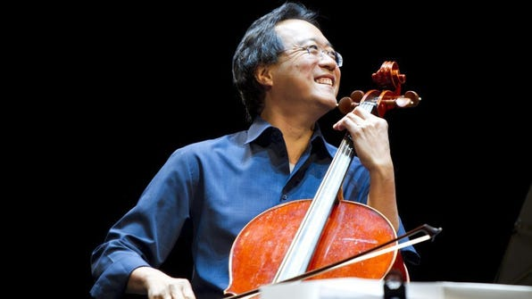 Yo-Yo Ma embarks on a new collaborative concert, with only three U.S. dates, one of them here. Todd Rosenberg Photography