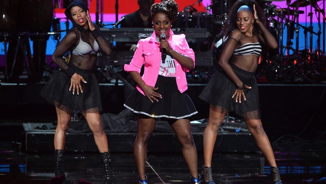 Ledisi performs onstage during the BET Awards at Nokia Theatre in Los Angeles earlier this year.