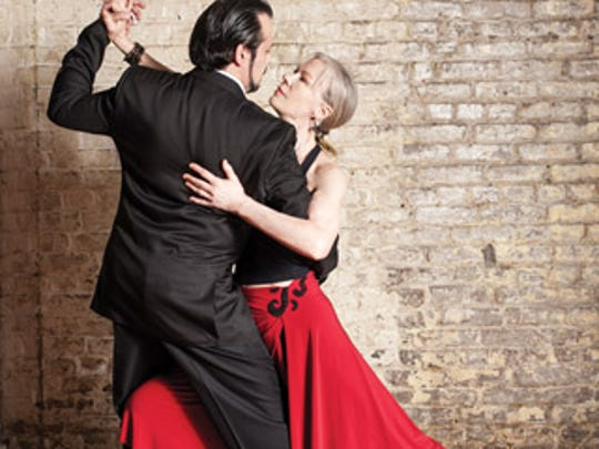 "Dale Ellison and Jorge ""Gem"" Duras do the Argentine tango. Duras' three-hour Argentine Tango Boot Camp offers something for everybody."