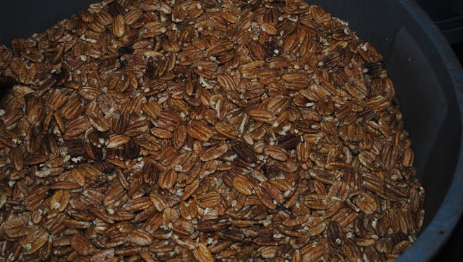 Pecans are Dwayne McCasland's business in a nutshell.