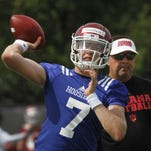 Nate Sudfeld, left, and Colin Kaepernick of the San Francisco 49ers were both tutored by Bay Area quarterback guru Roger Theder. Sudfeld's brother, Zach, a rookie tight end for the New England Patriots, and Kaepernick were college teammates at Nevada.